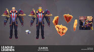 Garen BattleAcademia Model 03