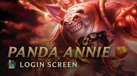 Panda Annie (Festyn Księżyca 2013) - ekran logowania
