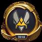Worlds 2018 Team Vitality (Gold) Emote