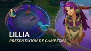Lillia Presentación de campeón