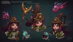 Lulu Dragon Trainer Model 2