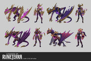 Shyvana DarkStar LoR Concept 01