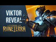 Viktor Reveal - New Champion - Legends of Runeterra