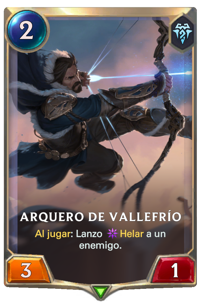 Arquero de Vallefrío (Legends of Runeterra)