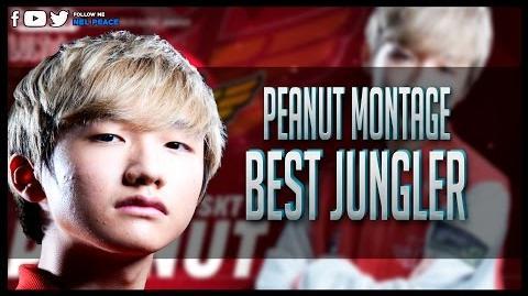 SKT T1 Peanut Montage - 1st Challenger Kr - Best of Peanut