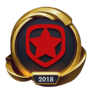 Worlds 2018 Gambit Esports (Gold) Emote