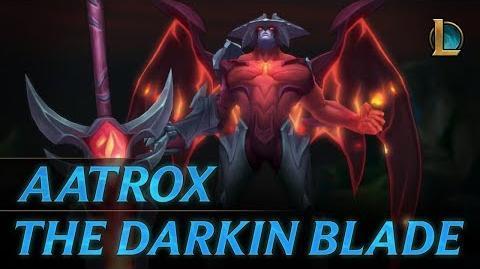 Aatrox The Darkin Blade Champion Trailer - League of Legends