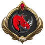 MSI 2018 Kaos Latin Gamers Emote