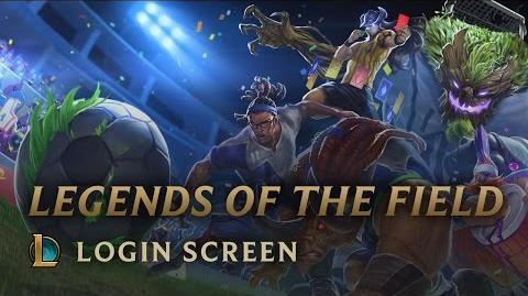 Legendy Boiska - ekran logowania