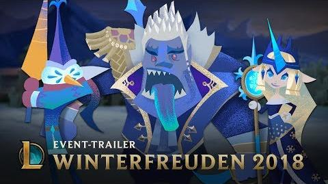 Der Tag vor den Winterfreuden Event-Trailer Winterfreuden 2018 – League of Legends