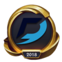 Worlds 2018 Dash9 Gaming (Gold) Emote