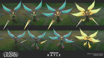 Kayle Update Viridian- Konzept 01