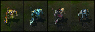 Nasus' Skins Screenshots