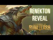 Renekton Reveal - New Champion - Legends of Runeterra