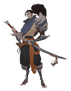Yasuo Kin of the Stained Blade Concept 08