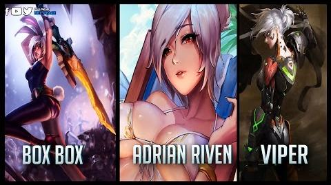 Box Box vs Adrian Riven vs Viper - Gods of Riven 😱