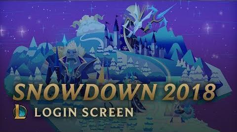Snowdown 2018 - ekran logowania