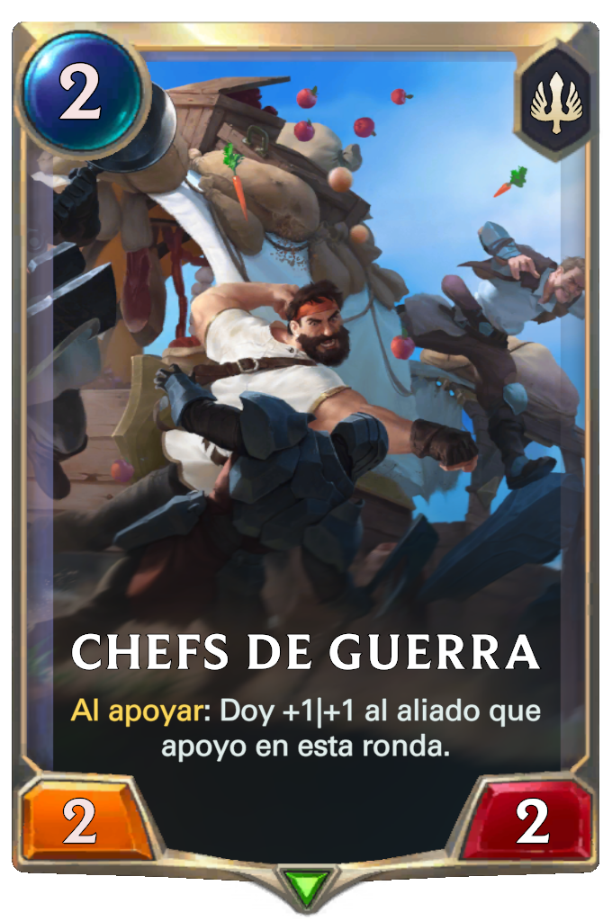 Chefs de Guerra (Legends of Runeterra)