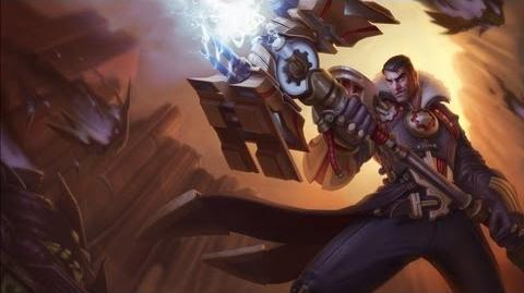 Jayce Art Spotlight League of Legends
