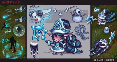 Lulu Winterwunder- Konzept 2