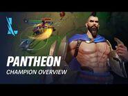 Pantheon Champion Overview - Gameplay - League of Legends- Wild Rift