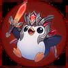 Saison 2019 - Siegreicher Pingu - Großmeister Sticker
