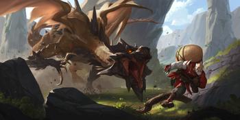 "Screeching Dragon known also as ""Draco murmurationis""."