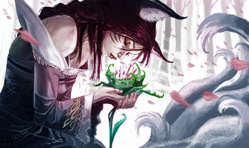 Ahri in The Garden of Forgetting