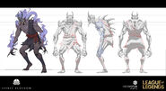 Kuro'sagol Kin of the Stained Blade Concept 07