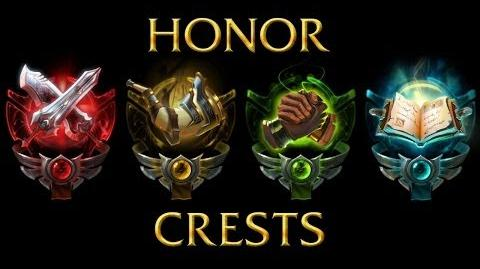 LoL Animations - Honor badges