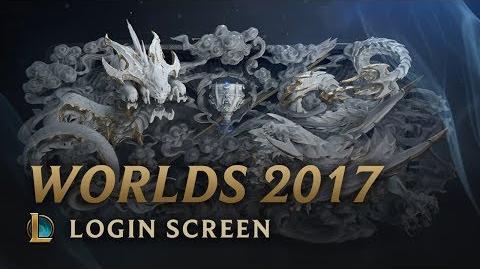 World Championship 2017 - Login Screen