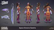 Samira SpaceGroove Model 03