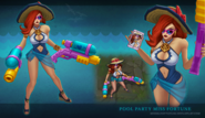 Miss Fortune PoolParty Model 01