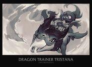 Tristana DragonTrainer Splash Concept 01