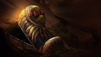 Amumu Der Fluch der traurigen Mumie Kunst 6