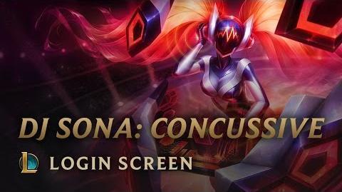 DJ Sona Concussive - Login Screen