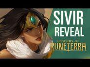 Sivir Reveal - New Champion - Legends of Runeterra