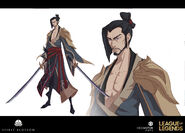 Yone Kin of the Stained Blade Concept 06