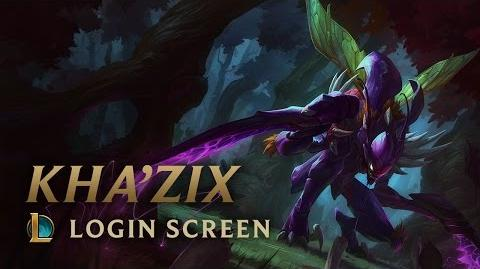 Kha'Zix - ekran logowania