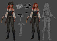 Miss Fortune TheClimb concept 01