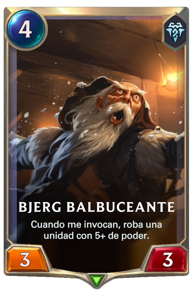 Bjerg Balbuceante (Legends of Runeterra)