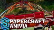Papierkunst-Anivia - Skin-Spotlight