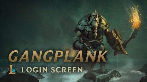 Gangplank - ekran logowania