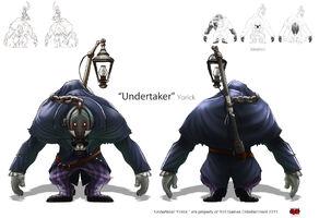 Yorick Undertaker Konzept