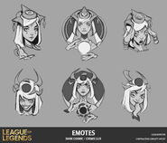 Lux Cosmic DarkCosmic Emote Concept 01