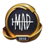 Worlds 2018 MAD Team (Gold) Emote