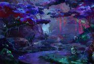 Spirit Bonds Background Akana Forest