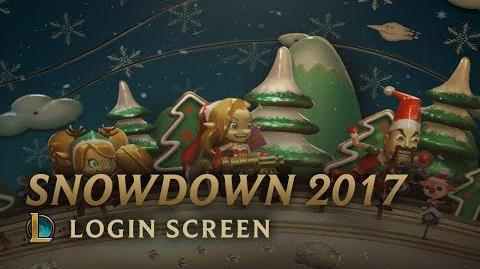 Winterfreuden 2017 - Login Screen
