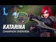 Katarina Champion Overview - Gameplay - League of Legends- Wild Rift