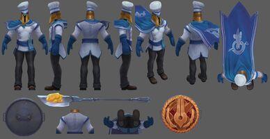 Pantheon Update Bäcker- Model 01